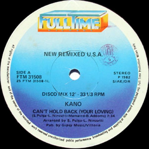 Can't Hold Back / Fall Into A Trance NEW REMIXED USA
