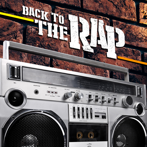 BACK TO THE RAP   -  vinyl release  21 april  2018 limited edition