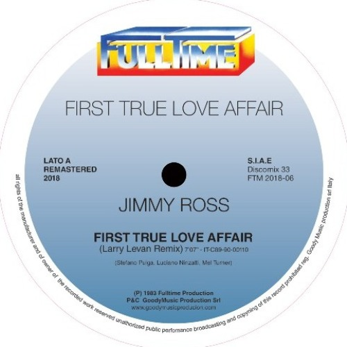 First True Love Affair (Remastered 2018) LARRY LEVAN REMIX