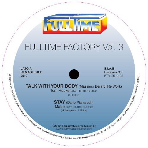 FULLTIME FACTORY vol. 3 - Tom Hooker/Matrix/Ago/Sex Band