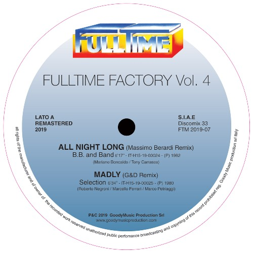 FULLTIME FACTORY Vol. 4 - B.B. and Band/Selection/Tom Hooker/Rainbow Team